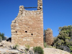 Towers at Hovenweep National Monument